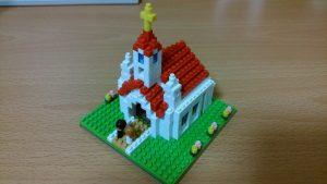 ナノブロック教会(NBH_087)の外観