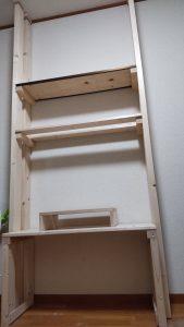 壁面棚作成4